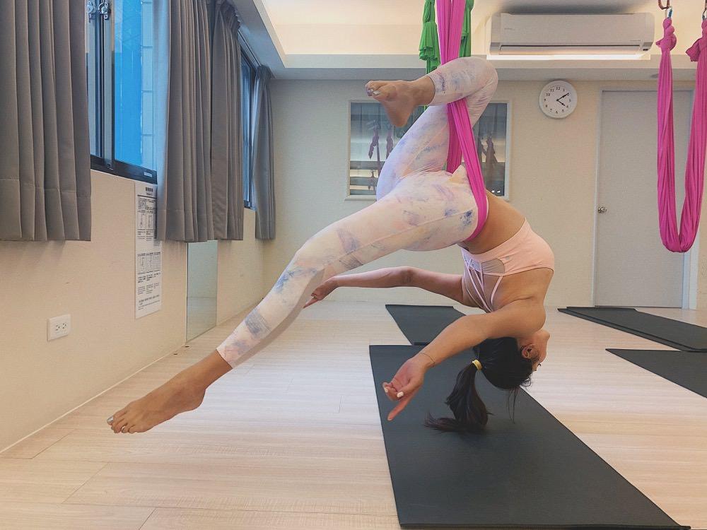 空中瑜伽師資班初體驗~克服恐懼展現力與美