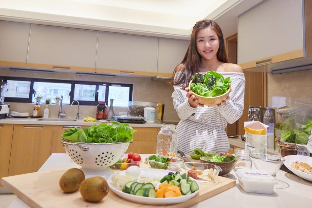 想吃沙拉不用洗-營養師輕食水耕蔬菜 (附有4道食譜)